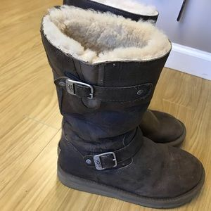 """UGG """"Sutter"""" leather boots"""